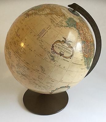 "Vintage Replogle 12"" Diameter Desktop Globe World Classic Series"