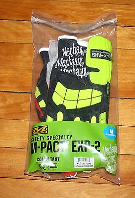 Mechanix Wear M-Pact Safety Gloves Size XL Exp-2 Brand New