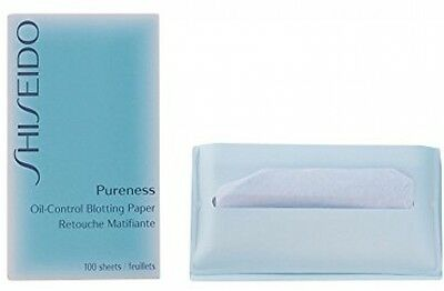 Shiseido Pureness Oil Control Blotting Paper Sheets - Pack of 100