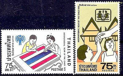 Thailand 1979 IYC/Year of Child Children Thai flag/SOS Village Welfare Health NH