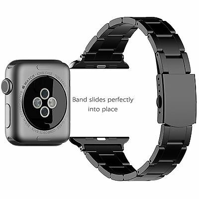 JETech 2106 Apple Watch Band 42mm Stainless Steel Replacement Wrist Strap Band