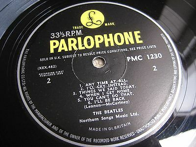 The Beatles A Hard Day's Night 1st Press UK Mono LP Ernest J Day Cover