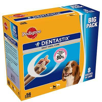 Pedigree Dentastix Daily Oral Care Medium Dog 10-25k g, 56 Sticks, 1.44kg