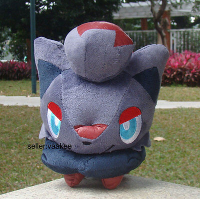 "Pokemon Center Zorua 7.5"" Plush Toy Pocket Monsters Lovely Stuffed Toy Soft Doll"