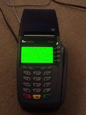 Verifone Vx510 Chip & Pin Card Machine. Mains Adapter Included