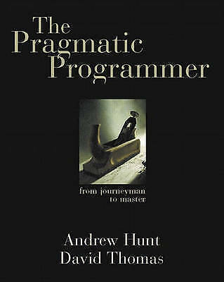 The Pragmatic Programmer, Good Condition Book, Andrew Hunt, David Thomas, ISBN 9
