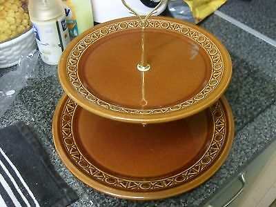 two tier cake stand beswick plates