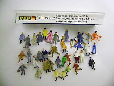 FALLER HO 153002 (HO/OO) PASSENGERS/PASSERS-BY (36 People) : EXCELLENT