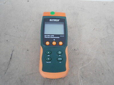 Extech Hot Wire CFM Thermo-Anemometer SDL350 ** WORKING ** inc.VAT