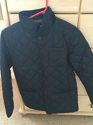 Next Boys Quilted Jacket Age 12 Blue