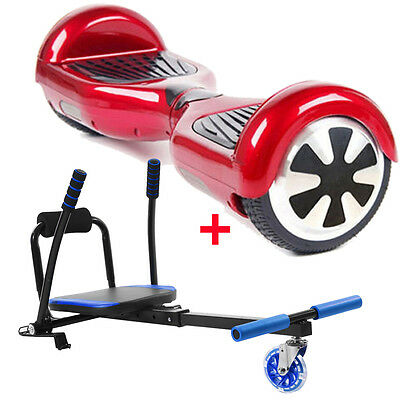 Hoverself Electric Scooter Outdoor Ride on Hoverboard Balance Board Move Seat