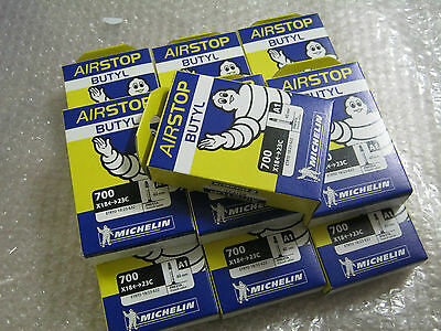 Michelin A1 AIRSTOP Inner Tube Tubes 700 x 18 - 23 - 25 Presta Valve 40mm 52mm