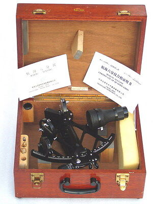 Mint Celestaire Glh 130-40 Marine Sextant Nr.810431 With Papers & Tools