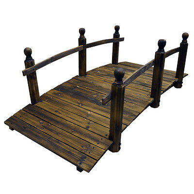 BONZAI - 5 foot Ornamental Garden Bridge - Burntwood ZLY-903