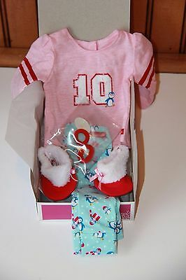 American Girl Holiday Penguin PJs for Doll ~ NEW