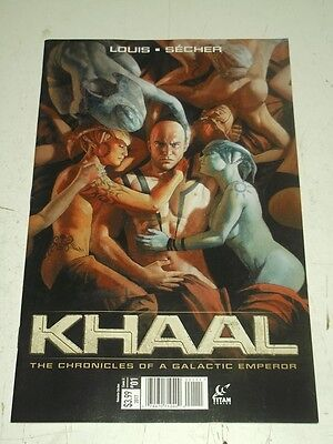 Khaal #1 Titan Comics Cover A 2017 Nm (9.4)