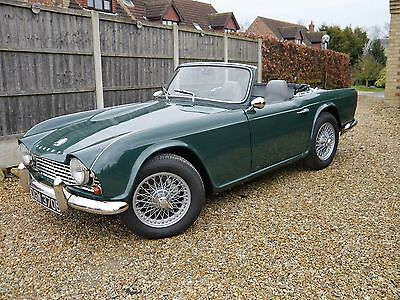 1964 Triumph TR4 RHD with overdrive