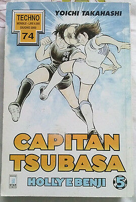 Capitan Tsubasa N. 5 Holly E Benji Manga Star Comics Techno 74 Prima Edizione!!
