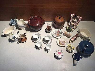 Job lot Porcelain and China - Plates and Figurines