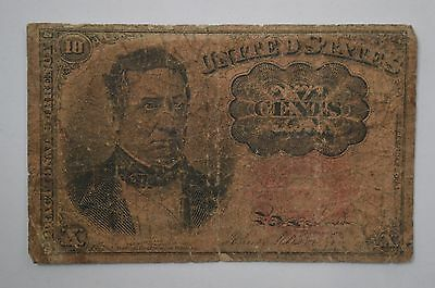 19th Century Ten Cents Fractional Currency, Fifth Issue *P67