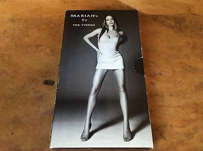 Mariah Carey - 1's The Videos - UK Promo Only Picture Slip-Card Sleeve,Rare.
