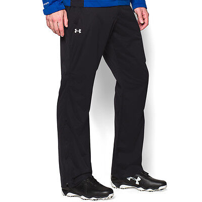 Under Armour Mens ArmourStorm Rain Waterproof UA Golf Pant Over Trousers Large