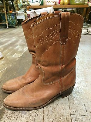 Vintage 1970 disco rockabilly hipster western cowboy mens boots sz 10D