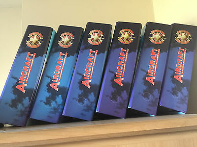 Complete Collection - Aircraft of The World Series - 6 Complete Binders