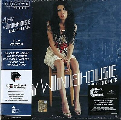AMY WINEHOUSE Back to Black (Deluxe Edition) - 2LP / Vinyl + MP3 (Reissue 2016)