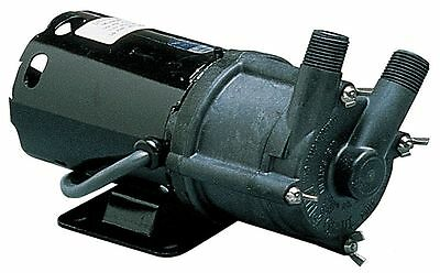 Little Giant 1/25 HP PPS 115V Magnetic Drive Pump, 16.2 ft. Max. Head -