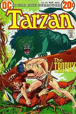 Tarzan (1972 DC) #218 GD/VG 3.0 LOW GRADE