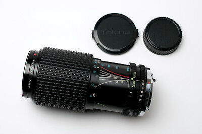 RMC Tokina 80-200mm f/4 Zoom Lens For Olympus OM Caps & Filter READ (#1826)