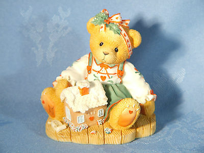 "Cherished Teddies. Sharon. ""sweetness Pours From My Heart"". 1998 Figurine"