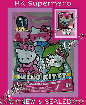 Hello Kitty by Sanrio COSTUME COLLECTION Series 1 ●HK SUPERHERO● ☆NEW & SEALED☆
