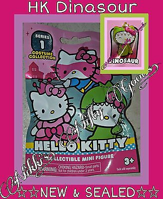 Hello Kitty by Sanrio COSTUME COLLECTION Series 1 ●HK DINASOUR● ☆NEW & SEALED☆