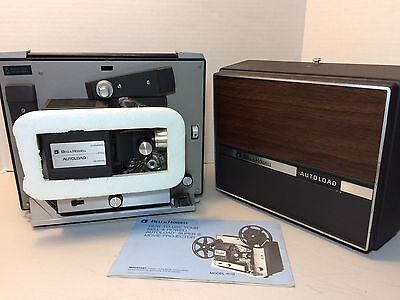 Vintage Bell Howell Autoload Super 8Mm Movie Projector 461B-Euc-Tested & Working