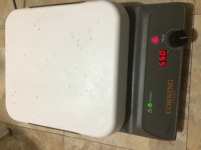 Corning PC-600D Hot Plate with Digital Display in Working Condition