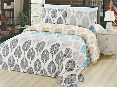 Bamboo Printed Bed 6 Pieces Sheet Set Designed Free Shipping, Wrinkle Free, Soft