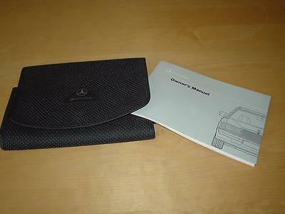 MERCEDES W201 190E COSWORTH 2.5-16 190 E M102 Owners Manual Handbook Book Wallet