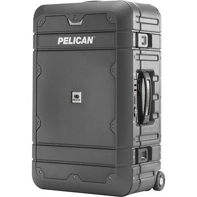 "Pelican EL22 22"" Elite Carry-on Luggage with Enhanced Travel System Black/Gray"