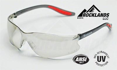 Elvex Xenon™ Safety/Motorcycle Glasses Indoor/Outdoor Lens  Z87.1
