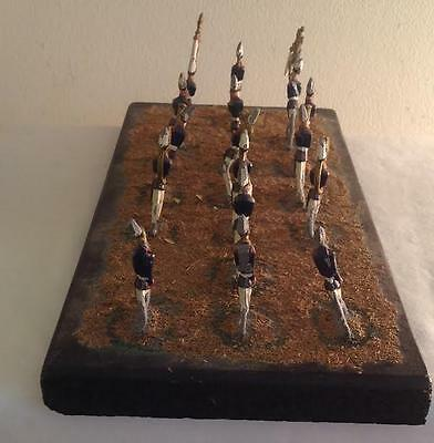 Superb Cast Iron Salvation Army Style Marching Band Leaning Figures On Platform