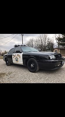 2001 Ford Crown Victoria P71 crown victoria police interceptor