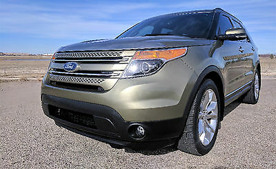2012 Ford Explorer Limited 2012 Ford Explorer Green Limited!Loaded,Texas Clean Carfax!!