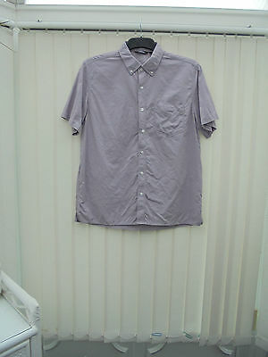 Rohan 'Envoy' Mens Size L Muted Heather Short Sleeve Hiking/Walking Shirt