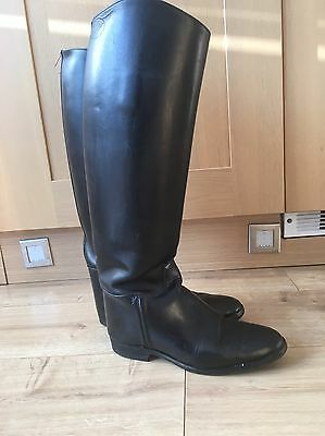 Hawkins Royale Long Leather Dressage / Hunting Boots Size 6