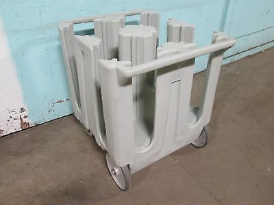"""""""cambro Dc1125"""" H.d. Commercial  Plate Holder/dispenser/carrier Poly Cart/caddy"""