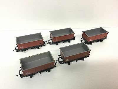 Hornby R079 OO Gauge BR MSV Mineral Wagon B388469 x5