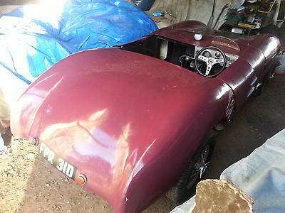 1962 Mistral-bodied Sabre Sports-Racing Special. Restoration Project. Kit car