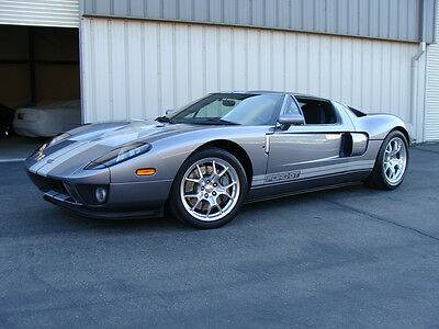 2006 Ford Ford GT 2 Door Coupe 2006 Tungsten w/ Silver Stripes Ford GT - Whipple, JBA, Exhaust, One owner! GT40